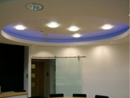Attractive Add Some Glamour With Suspended Ceiling Lights